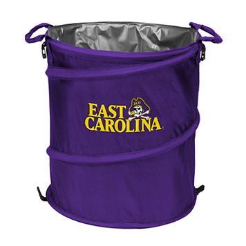 Logo Brand East Carolina Pirates Collapsible 3-in-1 Trashcan Cooler