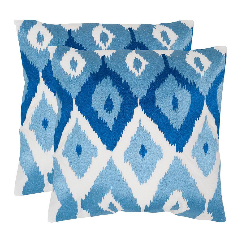Lexi 2-piece 22'' x 22'' Throw Pillow Set