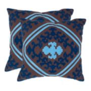 Pete 2-piece 18'' x 18'' Throw Pillow Set