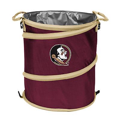 Logo Brand Florida State Seminoles Collapsible 3-in-1 Trashcan Cooler