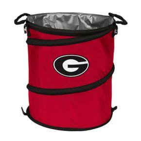 Logo Brand Georgia Bulldogs Collapsible 3-in-1 Trashcan Cooler