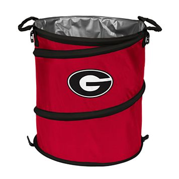 Logo Brand Georgia Bulldogs Collapsible 3-in-1 Trashcan Cooler