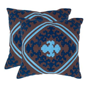 Pete 2-piece 20'' x 20'' Throw Pillow Set