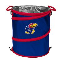 Logo Brand Kansas Jayhawks Collapsible 3-in-1 Trashcan Cooler