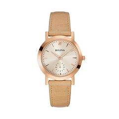 Bulova Women's Leather Watch - 97L146