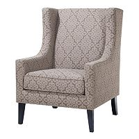 Madison Park Barton Solid Accent Chair