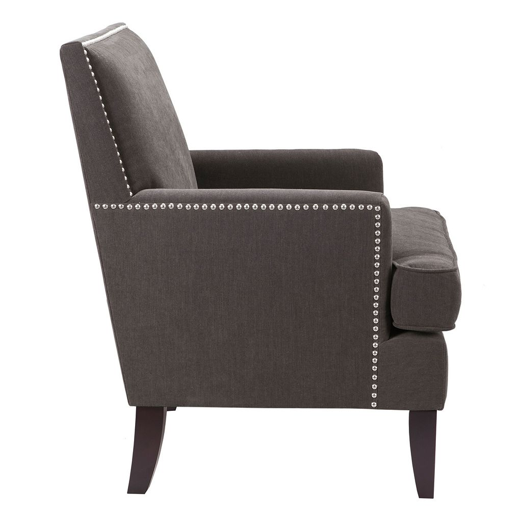 Madison Park Colton Nailhead Accent Chair