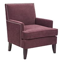 Madison Park Colton Nailhead Accent Chair