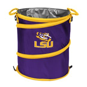 Logo Brand LSU Tigers Collapsible 3-in-1 Trashcan Cooler