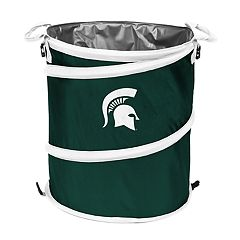Logo Brand Michigan State Spartans Collapsible 3-in-1 Trashcan Cooler