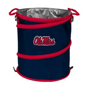 Logo Brand Ole Miss Rebels Collapsible 3-in-1 Trashcan Cooler