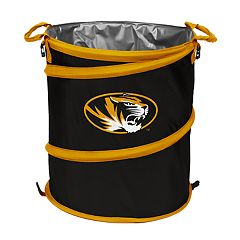 Logo Brand Missouri Tigers Collapsible 3-in-1 Trashcan Cooler