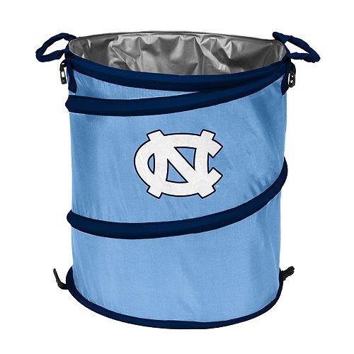 Logo Brand North Carolina Tar Heels Collapsible 3-in-1 Trashcan Cooler