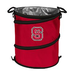 Logo Brand North Carolina State Wolfpack Collapsible 3-in-1 Trashcan Cooler