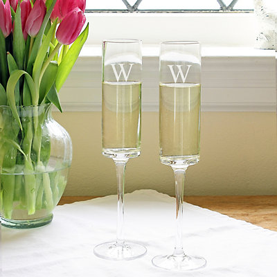 Cathy's Concepts 2-pc. Contemporary Champagne Flute Set