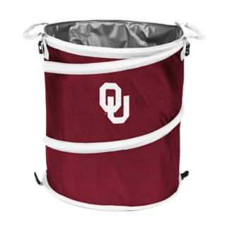 Logo Brand Oklahoma Sooners Collapsible 3-in-1 Trashcan Cooler