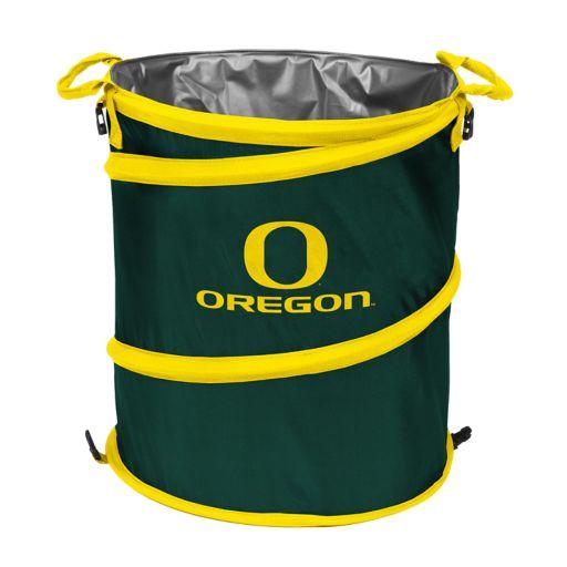 Logo Brand Oregon Ducks Collapsible 3-in-1 Trashcan Cooler