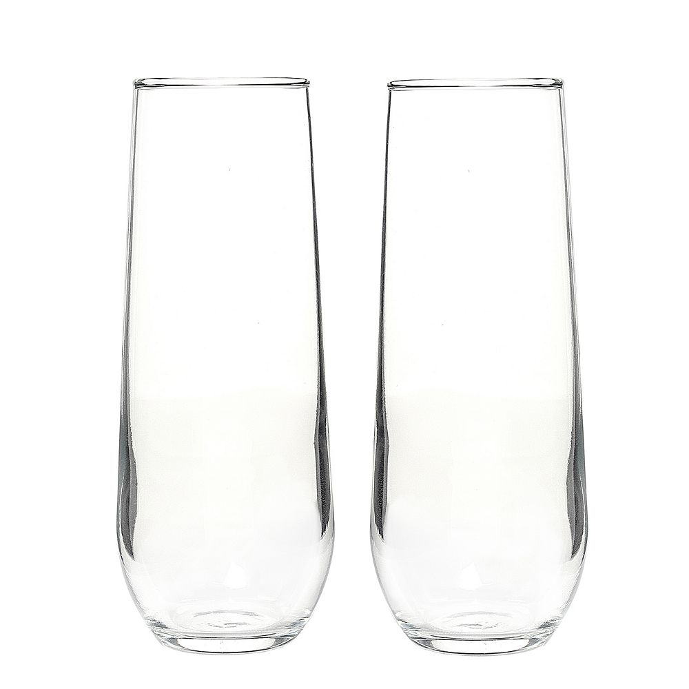 Cathy's Concepts 2-pc. Stemless Champagne Toasting Flute Set