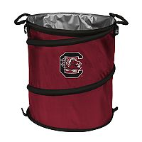 Logo Brand South Carolina Gamecocks Collapsible 3-in-1 Trashcan Cooler