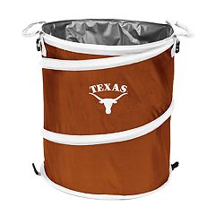 Logo Brand Texas Longhorns Collapsible 3-in-1 Trashcan Cooler