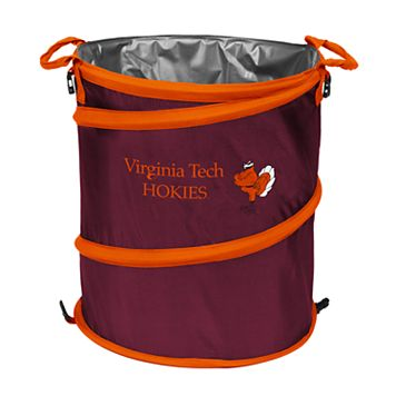 Logo Brand Virginia Tech Hokies Collapsible 3-in-1 Trashcan Cooler