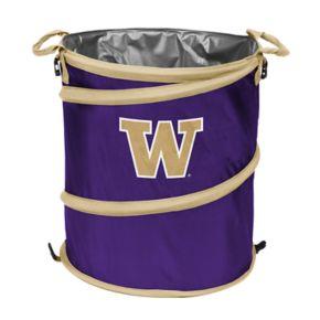 Logo Brand Washington Huskies Collapsible 3-in-1 Trashcan Cooler