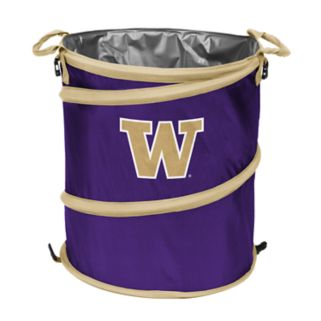 Logo Brand Washington Huskies Collapsible 3-in-1 Trashcan Cooler