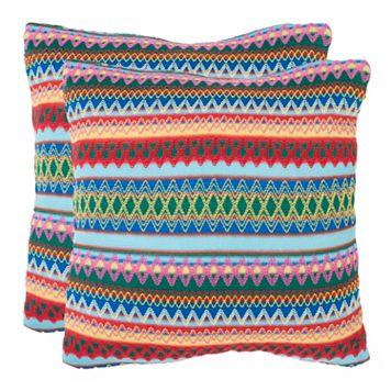 Mirabelle 2-piece 18'' x 18'' Throw Pillow Set