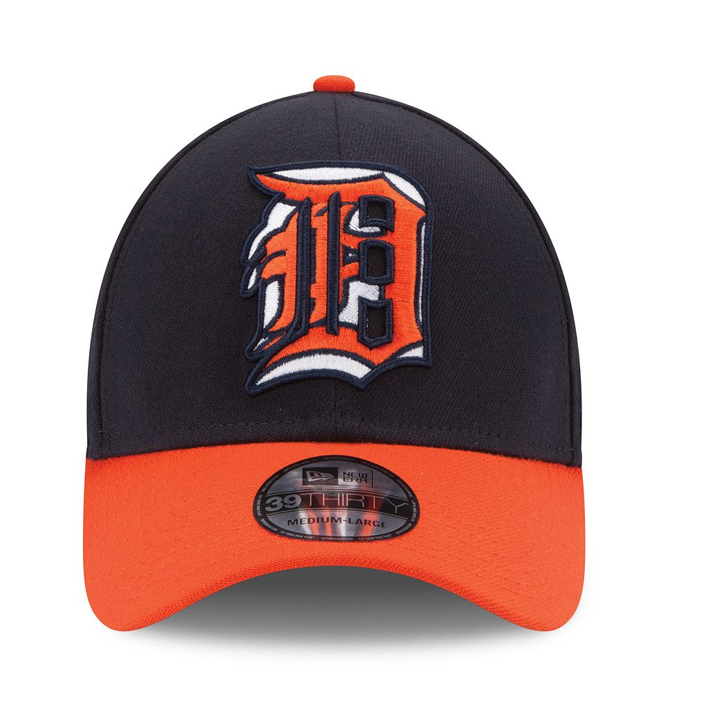 Adult New Era Detroit Tigers Stacker 39THIRTY Stretch-Fit Cap