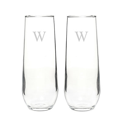 Cathy's Concepts 2-pc. Stemless Champagne Glass Set