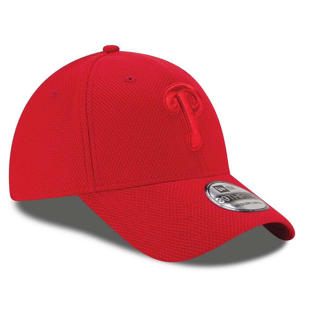 Adult New Era Philadelphia Phillies Tone Tech Diamond Era 39THIRTY Stretch-Fit Cap