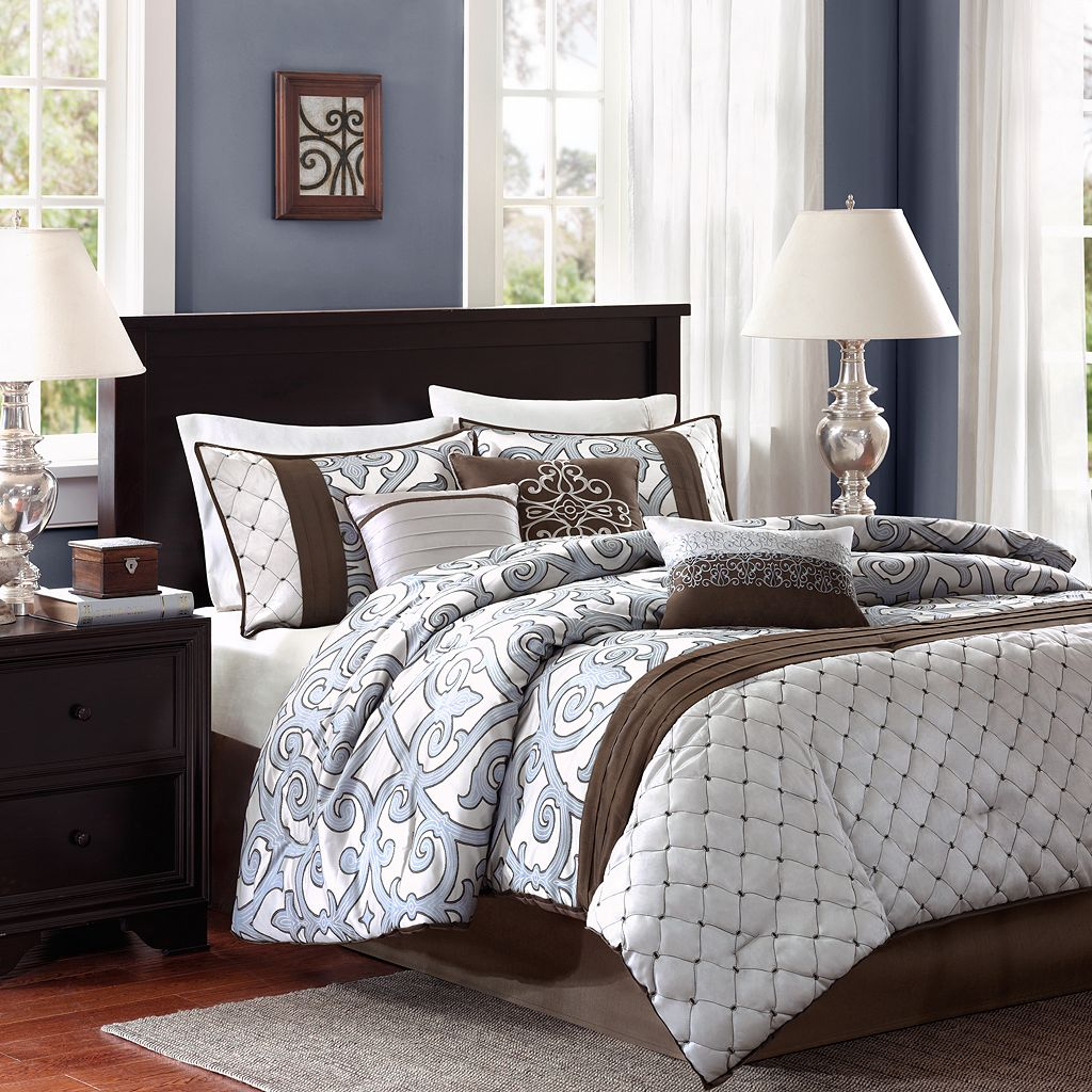 Madison Park Winchester 7-pc. Reversible Comforter Set
