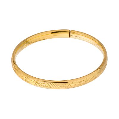 14k Gold-Filled Baby Bangle Bracelet - Kids
