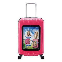 Travelers Club Selfie Personalized 20-Inch Hardside Spinner Carry-On