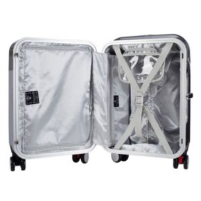 Seat-On Smooth 20-in. Hardside Spinner Carry-On