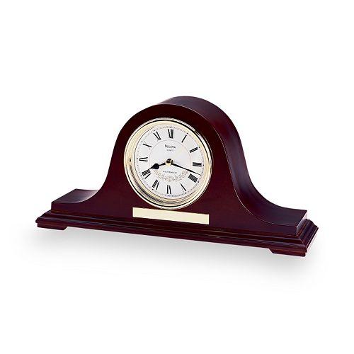 Bulova Annette II Wood Musical Mantel Clock - B1929