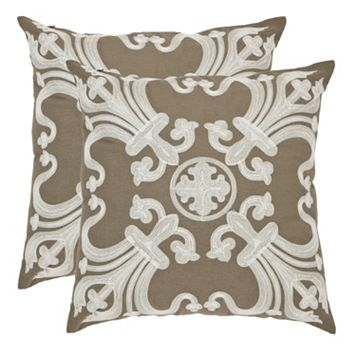 Collette 2-piece 18'' x 18'' Throw Pillow Set