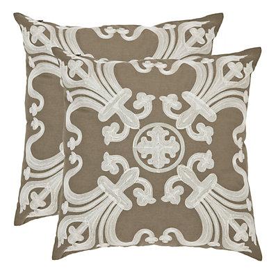 Collette 2-piece 18'' x 18'' Throw Pillow Set