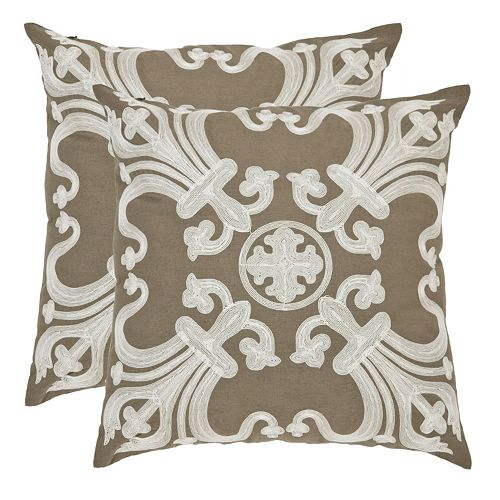 Collette 2-piece 22'' x 22'' Throw Pillow Set