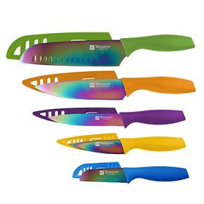 Hampton Forge Tomodachi 10-pc. Rainbow Knife Set