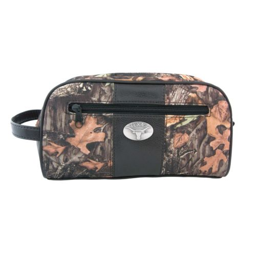 Zep-Pro Texas Longhorns Concho Camouflage Toiletry Case