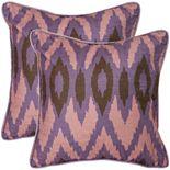 Easton 2-piece 22'' x 22'' Throw Pillow Set