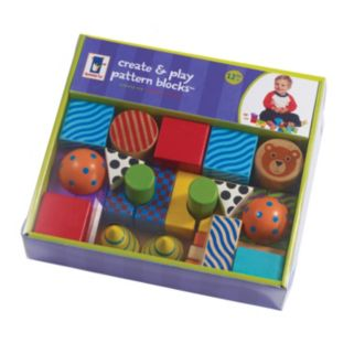 Create and Play Pattern Blocks by Manhattan Toy
