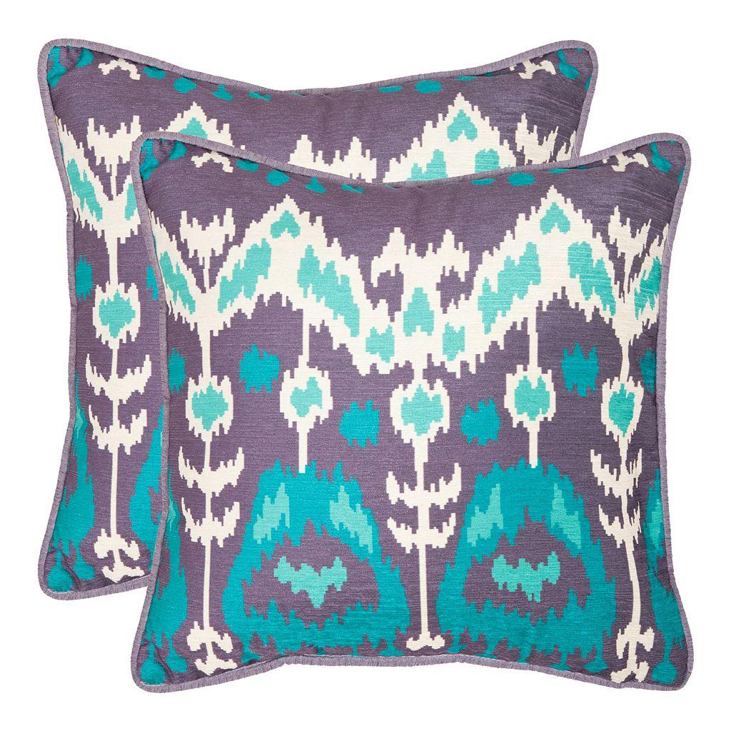 Manhattan 2-piece 20'' x 20'' Throw Pillow Set