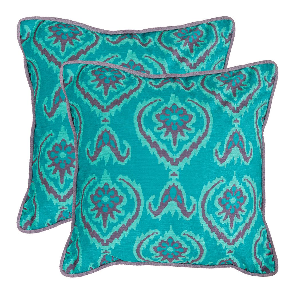 Alpine 2-piece 18'' x 18'' Throw Pillow Set