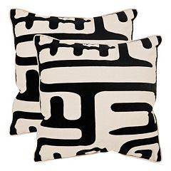 Maize 2-piece 20'' x 20'' Throw Pillow Set
