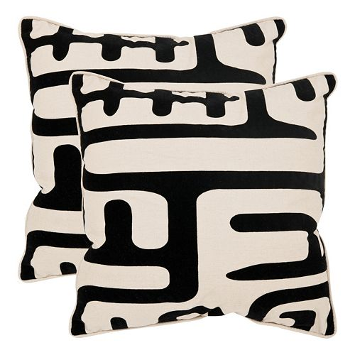 Maize 2-piece 20'' x 20'' Throw Pillow Set
