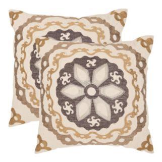 Thea 2-piece 22'' x 22'' Throw Pillow Set