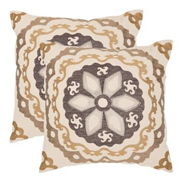 Thea 2-piece 22'' x 22'' Throw Pillow Set