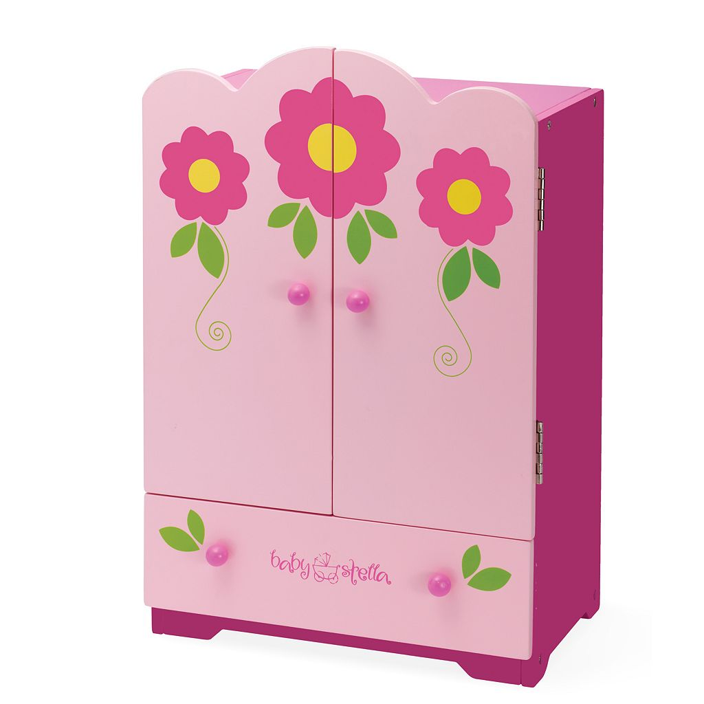 Baby Stella Tickled Pink Armoire by Manhattan Toy
